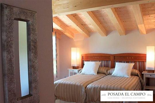 1 o 2 noches con encanto en la posada El Campo de Cantabria ¡En pleno Parque Natural!