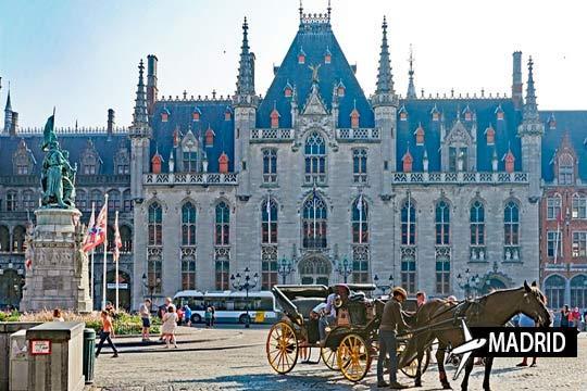 Descubre Bélgica con este viaje a Bruselas, Brujas y Gante ¡Con vuelo desde Madrid + 3 noches con desayunos!