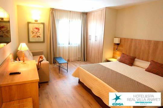 Disfruta de una escapada con encanto al Pirineo Aragonés con 1 noche con desayuno incluido + circuito Spa en el precioso hotel Real Villa Anayet ¡De 4 estrellas!