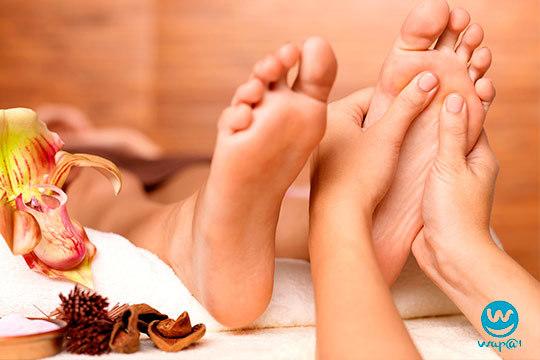 Sesión de reflexología podal solo o en pareja en Wapa Estética y Bienestar ¡Un masaje podal para relajarte!