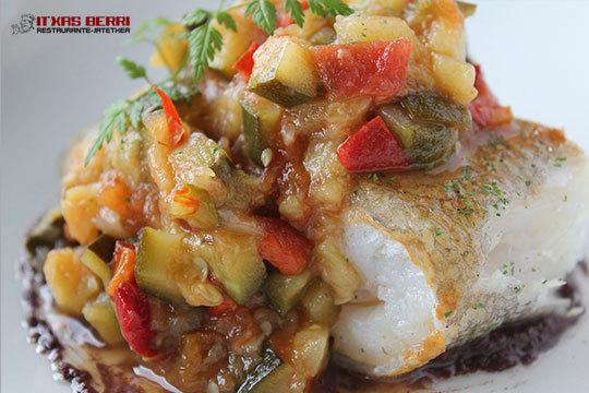 Menú de 4 platos en Restaurante Itxas Berri ¡Degusta nuevos sabores!