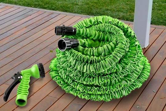 manguera extensible verde