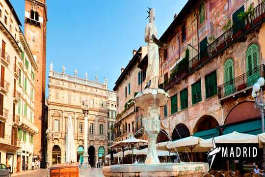 Verona en noviembre o diciembre ¡Vuelo + 4 noches con desayuno!