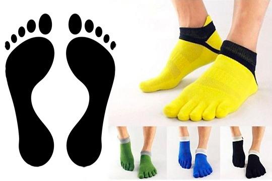 Comodidad y calor para tus pies con estos calcetines de 5 dedos ¡Varios colores a elegir!