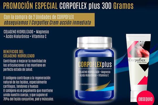 "CORPOFLEX ""Plus""Colágeno hidrolizado"