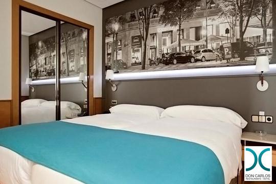 Descubre Pamplona en una escapada de una noche con desayuno en el hotel Don Carlos ¡Con opción a Spa!