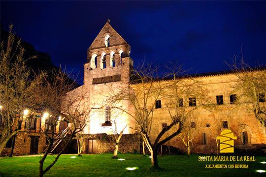 1 o 2 noches con desayuno en la Posada Monasterio Santa María La Real de Aguilar del Campoo ¡Con opción a cena!