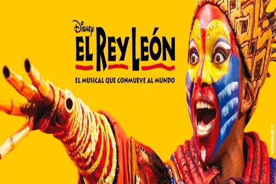 ¡Vive 'El Rey León'! Noche con AD + entrada para el 5 de mayo
