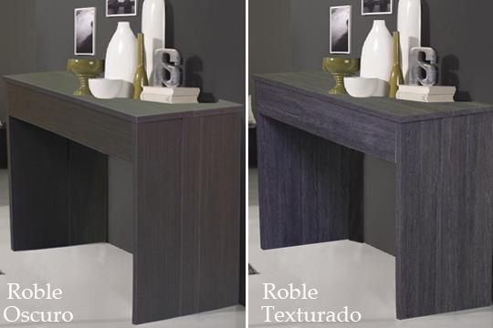Colectivia muebles colectivia mueble 2 en 1 consola y for Mesa 8 comensales