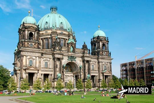 Descubre la ciudad del arte y la Historia contemporánea en octubre y noviembre ¡Vuelo a Berlín desde Madrid + 3 noches con desayunos!