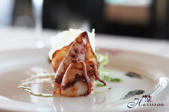 Exquisito menú con txipis y entrecot en el Hotel Harrison (Amorebieta)