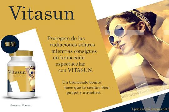 Protégete de las radiaciones solares mientras consigues un bronceado espectacular con Vitasun