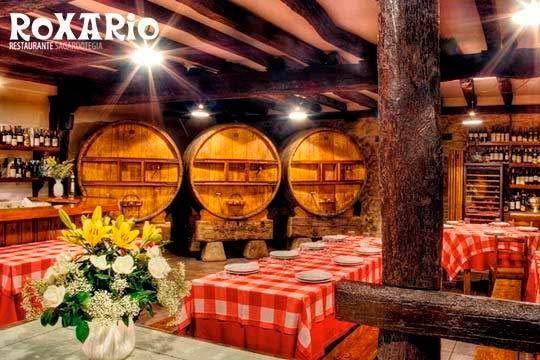 Exquisito Menú con txotx en Roxario Sagardotegia (Astigarraga)