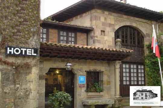 Disfruta de 1 a 3 noches con desayunos y una cena en el Hotel Santillana ¡Descubre el encanto de Cantabria!