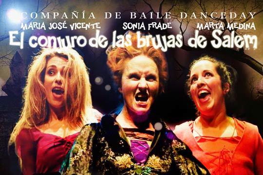 Diversión y entretenimiento en familia el 20 de agosto en el Colegio Salesianos de Deusto con el teatro 'El Conjuro de las brujas de Salem'