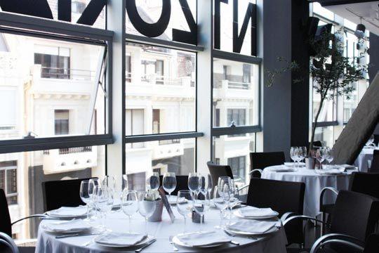 Colectivia restaurante 5 planta men degustaci n en - Restaurante teatro campos ...
