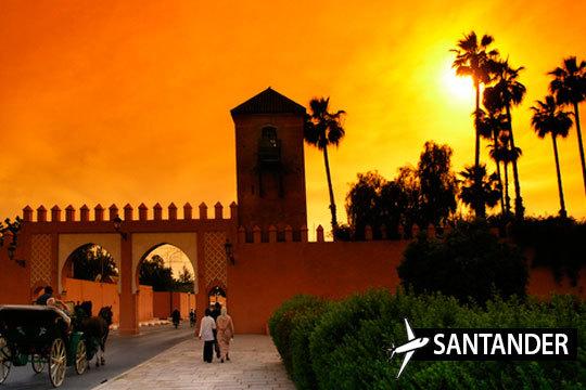 Descubre Marrakech con vuelo directo desde Santander ¡Estancia de 3 noches en el Puente de Diciembre!