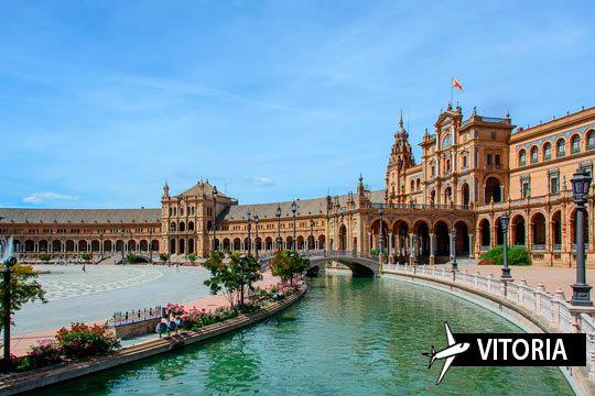 ¡Comienza el año en Sevilla! Estancia de 3 o 4 noches con vuelo desde Vitoria con desayunos