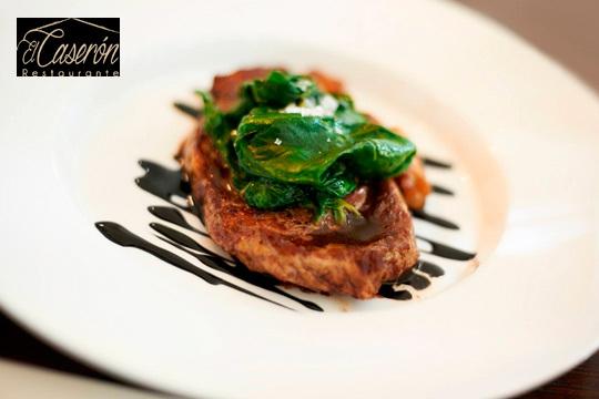 Menú degustación en El Caserón ¡Cocina tradicional con toque moderno!