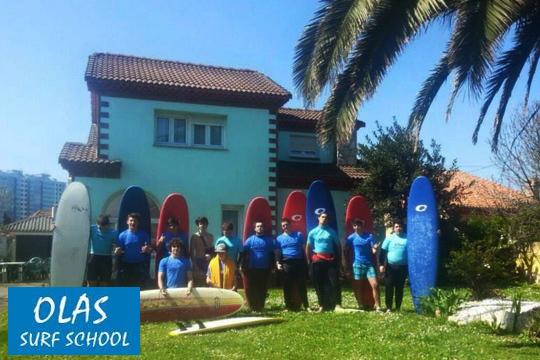 Elige entre 2, 3 o 4 días de Surfcamp con alojamiento incluido en Gijón ¡Este verano serás el primero en coger las olas!