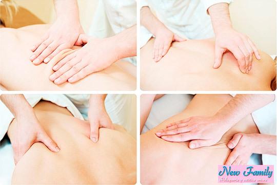 Reduce la tensión acumulada con 1 o 3 sesiones de quiromasaje o reflexología podal en el centro New Family ¡Relaja cuerpo y mente!