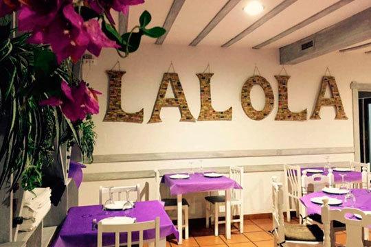 Degusta un exquisito menú mar y tierra en el Rte. La Lola ¡De la mano de Pilar Achurra!