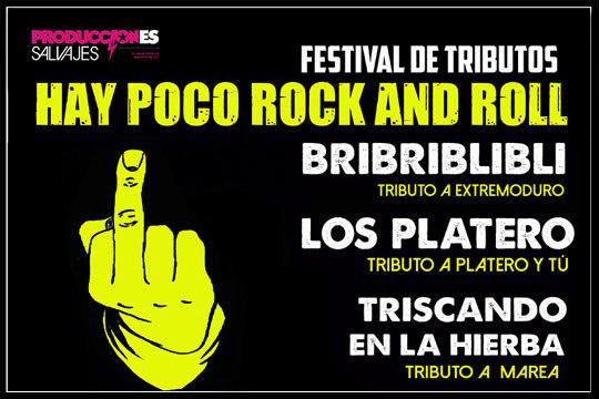 Disfruta de la mejor música con el espectáculo 'Hay poco Rock and Roll' en la Sala Jimmy Jazz ¡Disfruta de los mejores tributos a Marea, Extremoduro y muchos más!