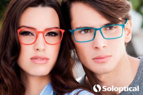 Renueva tu gafas de ver, sol o protección frente a dispositivos electrónicos en Soloptical ¡Graduadas monofocales o progresivas!