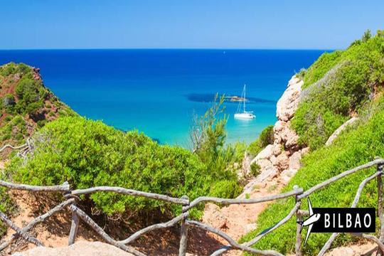 Julio y agosto a Menorca: Vuelo desde Bilbao + 7 noches en estudio