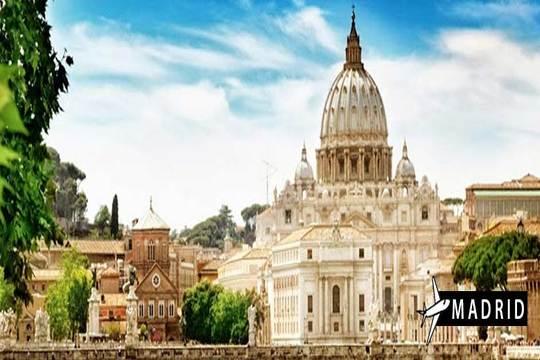 Vuelo a Roma en diciembre desde Madrid ¡4 noches en AD!