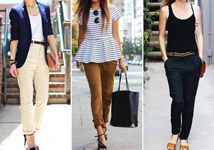 Ladies Chinos