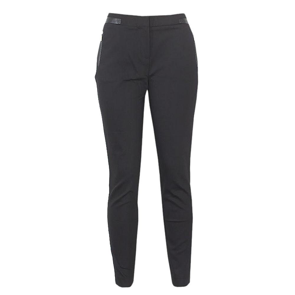 Autograph Black Straight Leg Ladies Pant Trouser