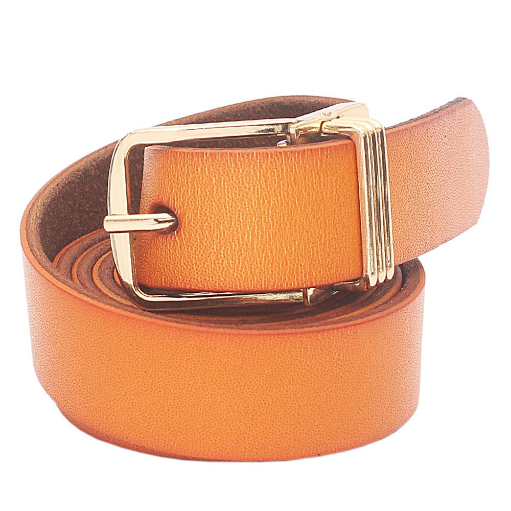 Brown Premium Leather Ladies Belt L 38 Inches
