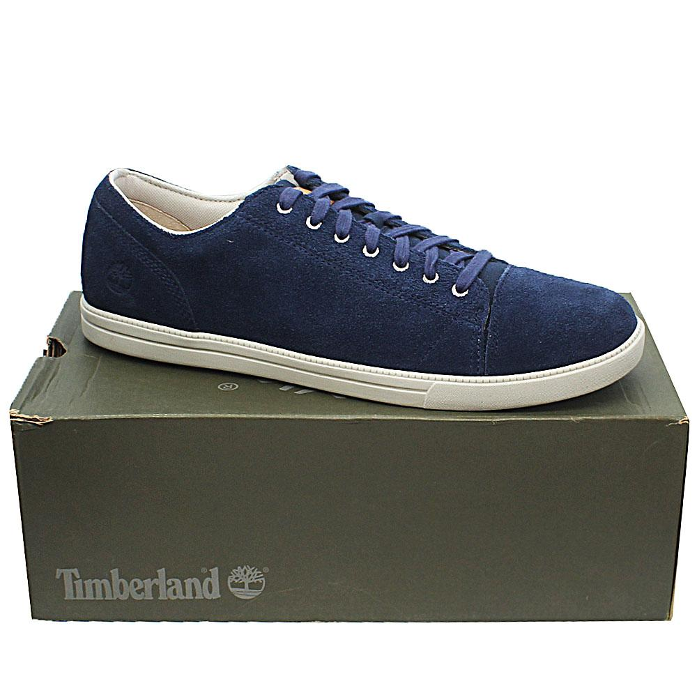 Timberland Blue Suede Leather Bayham Ox Men Sneakers