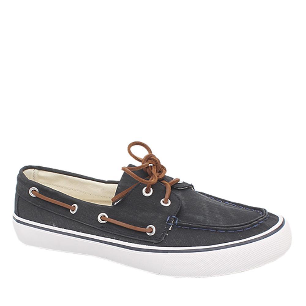M&S North Coast Black Denim Men Sneakers