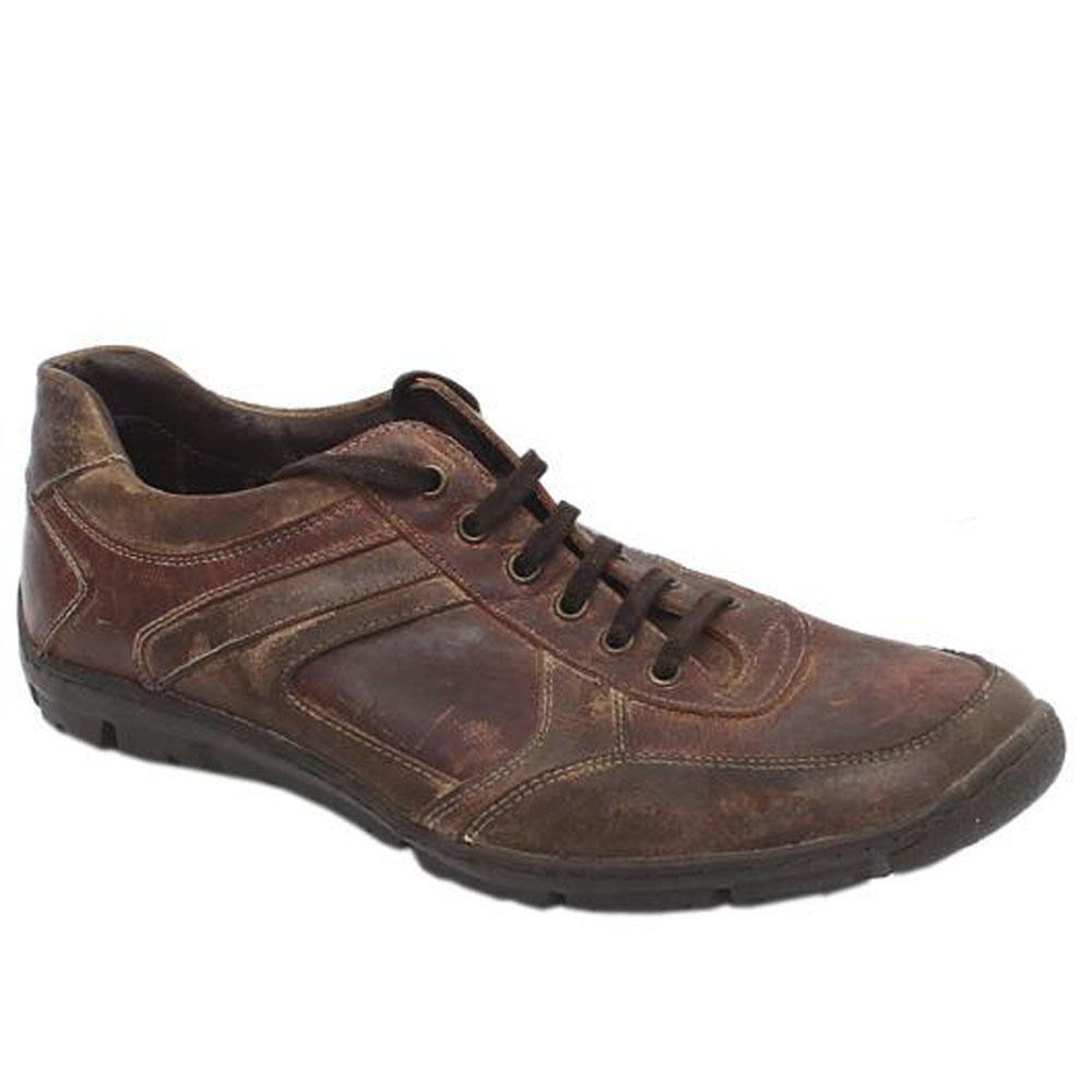 M & S Blue Harbour Brown Leather Men's Casual Lace Shoe Sz 44/UK 9