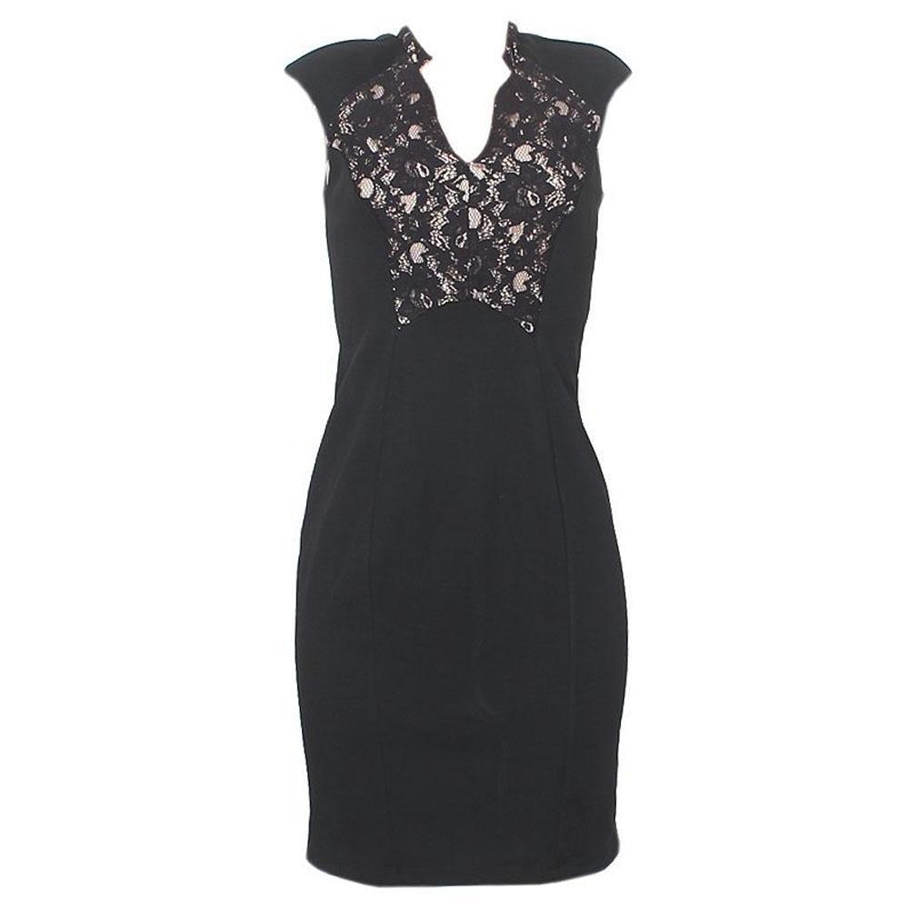 George Black/Brown Cotton Dress