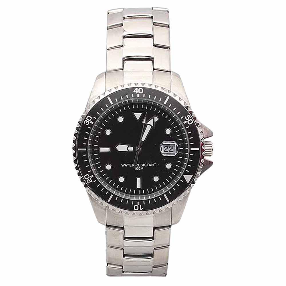 M & S Silver Men Watch -comes in wholesale case