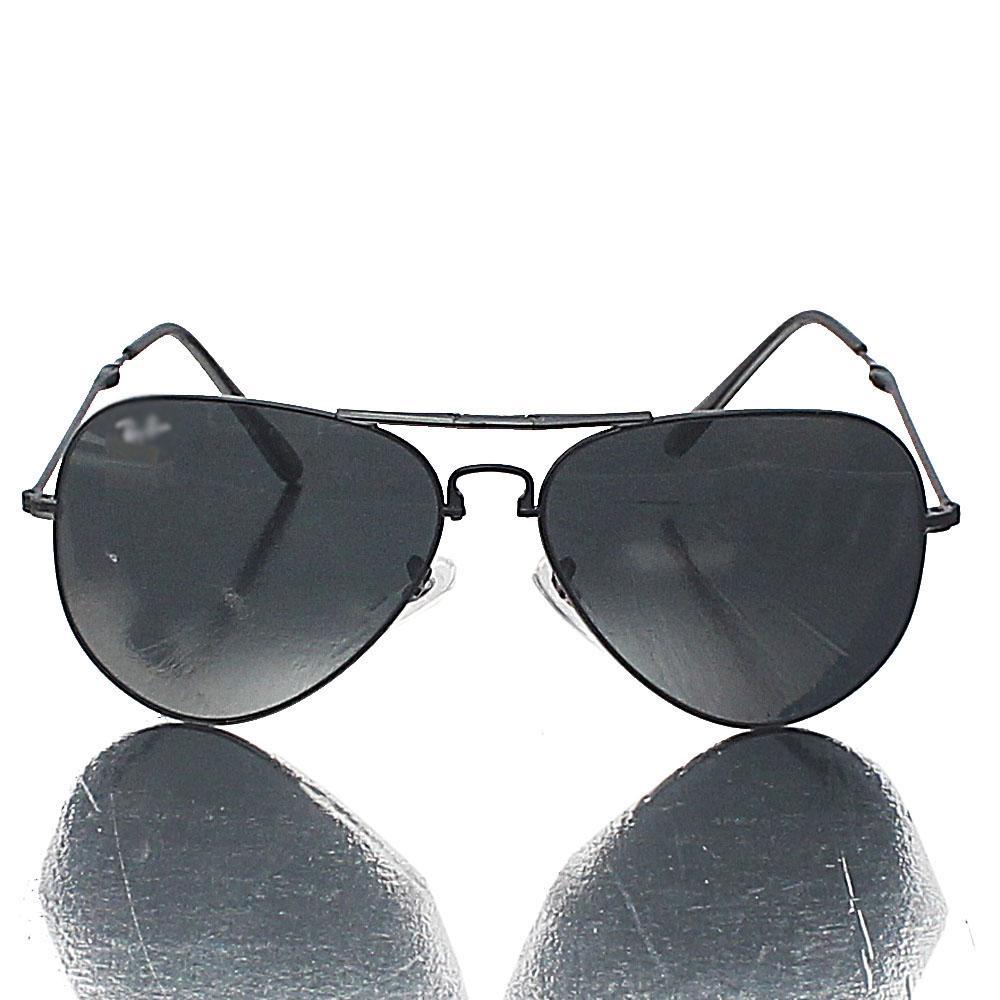 Black Pilot Foldable Dark Lens Sunglasses