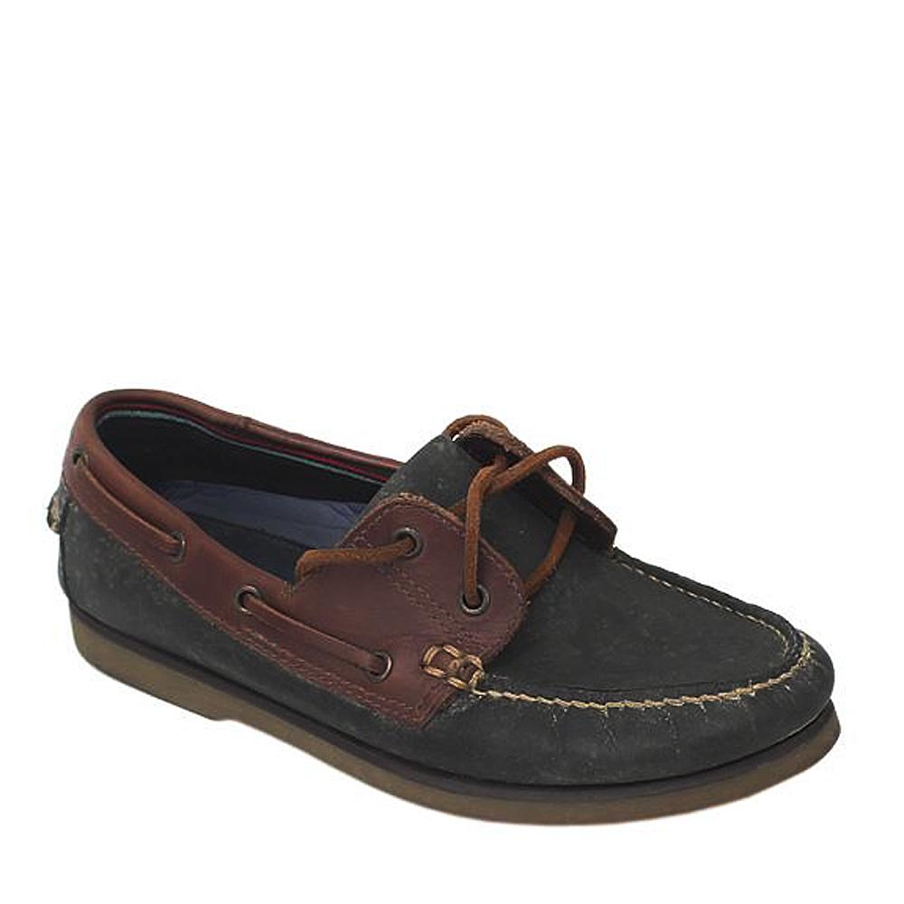Blue Harbour Navy/Brown Mens Loafer Wt Stain Defect