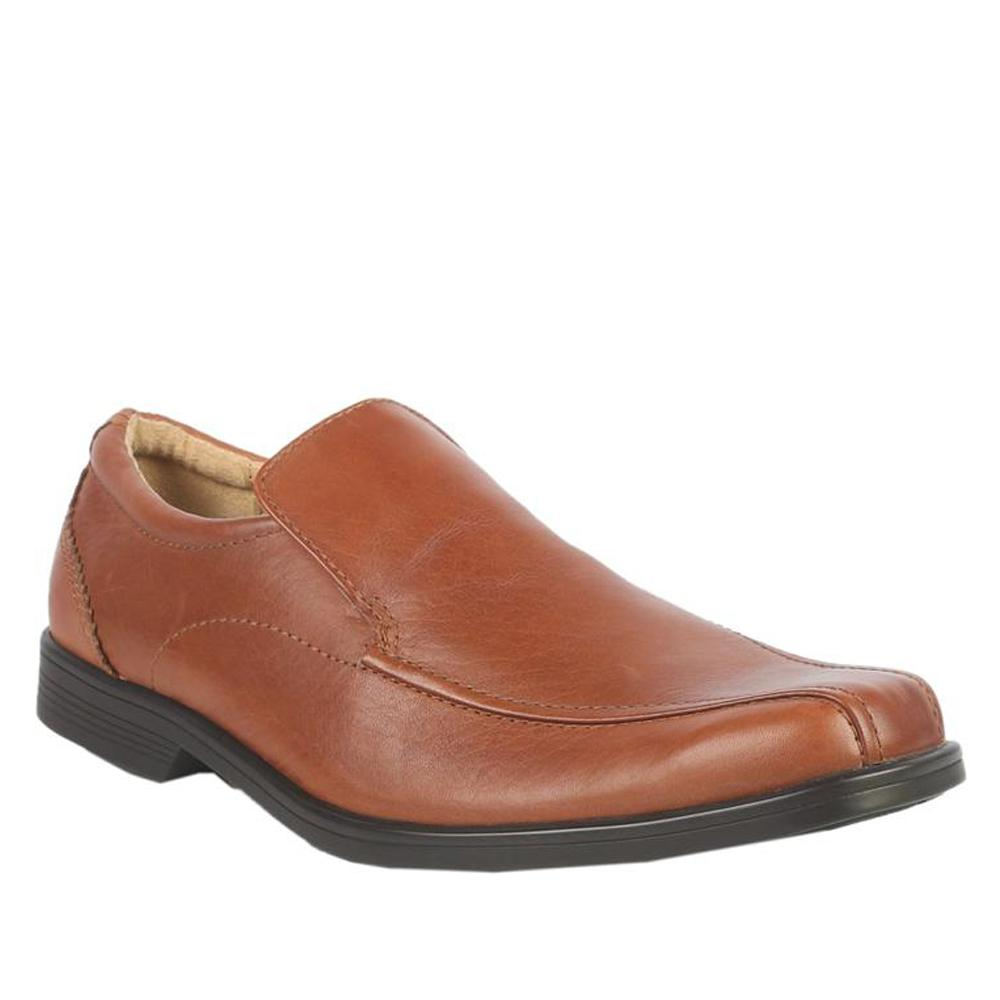 M&S Airflex Brown Leather Men's Formal Shoe-Eur 40