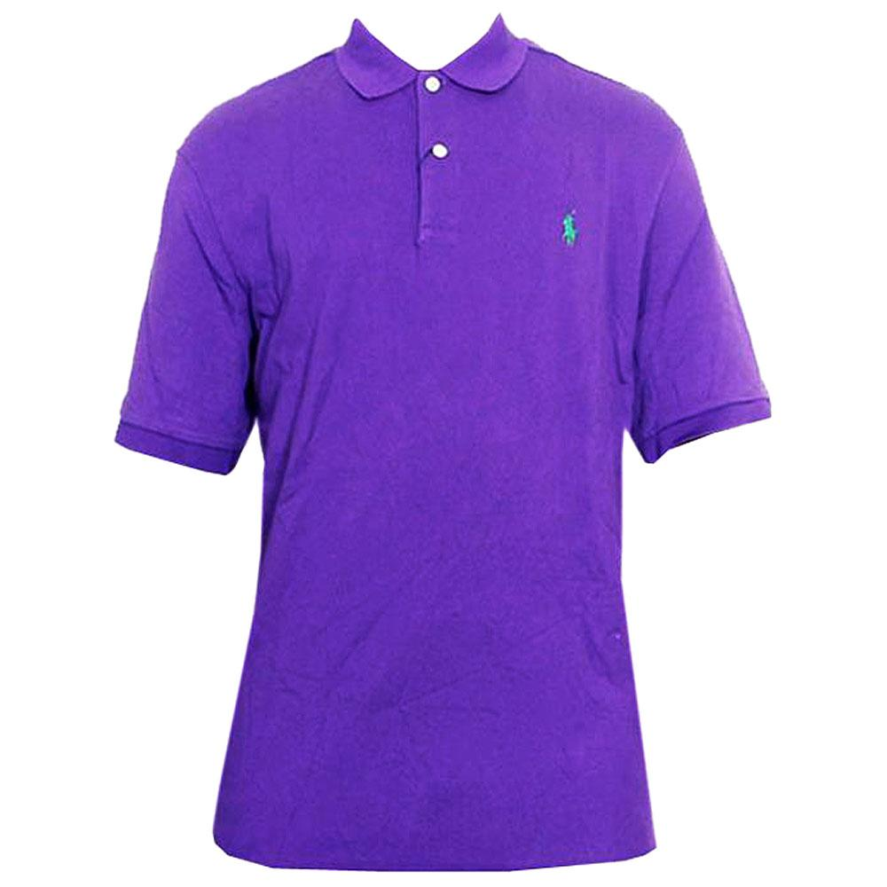 Polo Ralph Purple Men's Polo-L