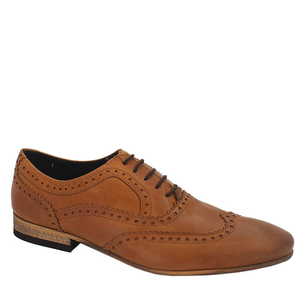 M & S Limited Edition Brown Leather Men Shoe