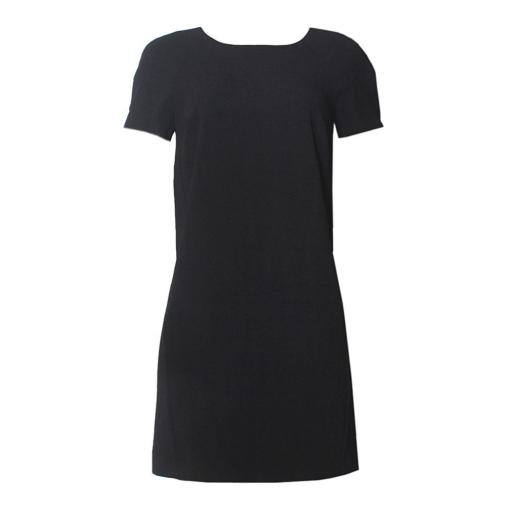 M & S Black Non Iron S/Sleeve Petite Exclusive Dress