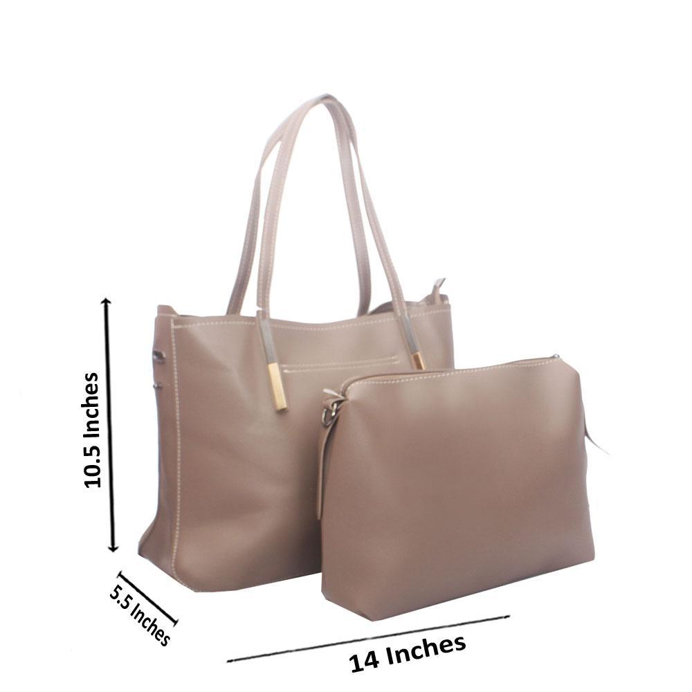 Khaki Miane Tandy Leather Shoulder Bag