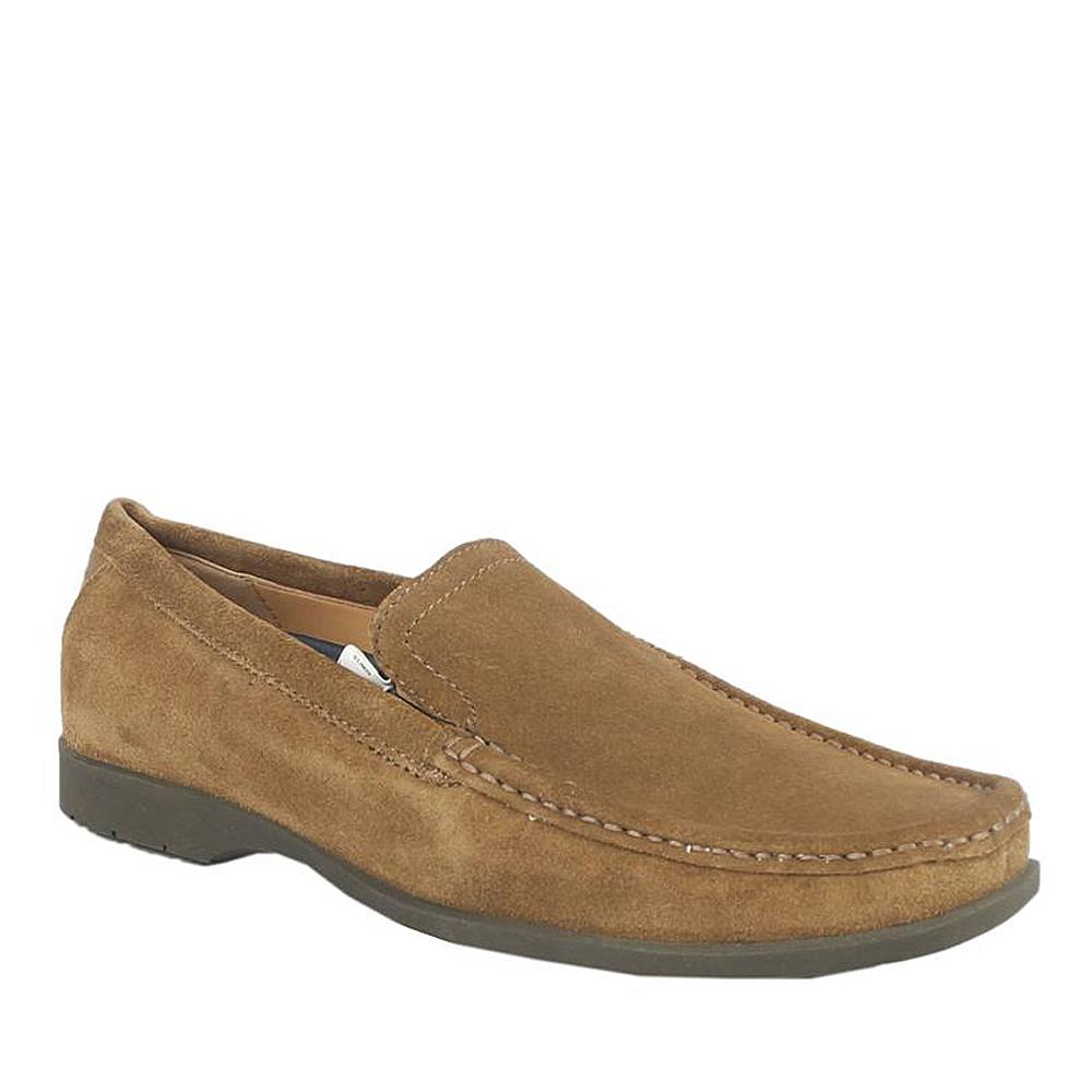 M&S Airflex Brown Suede Leather Men Loafers