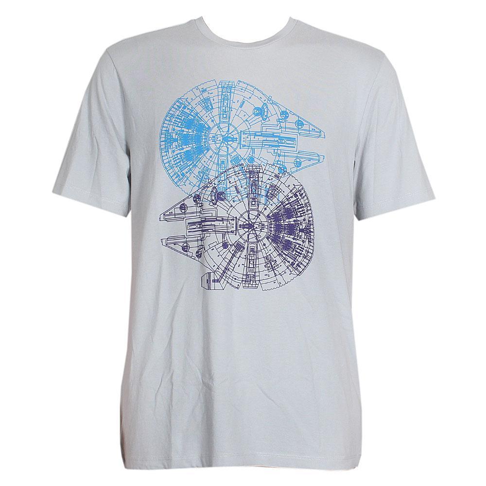 Star Wars Grey Men T-Shirt