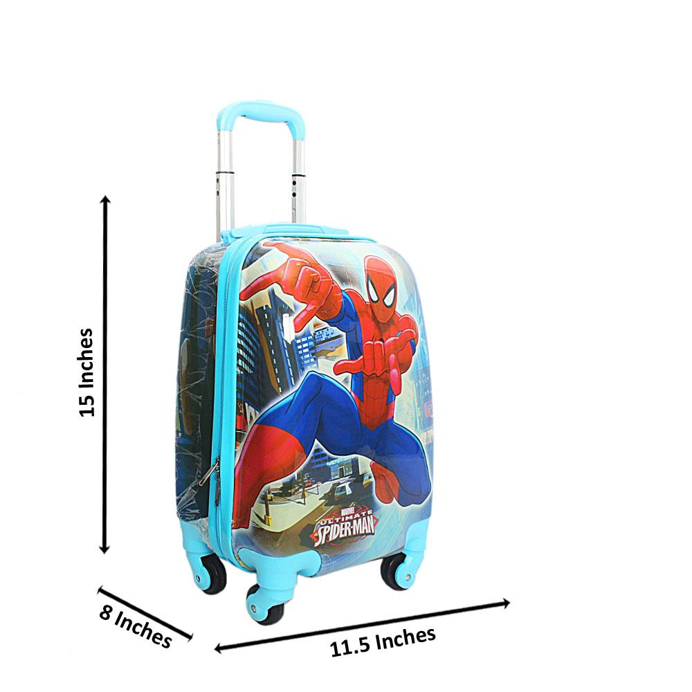 Spider Man Blue 9Inch Small Carry On Children Luggage