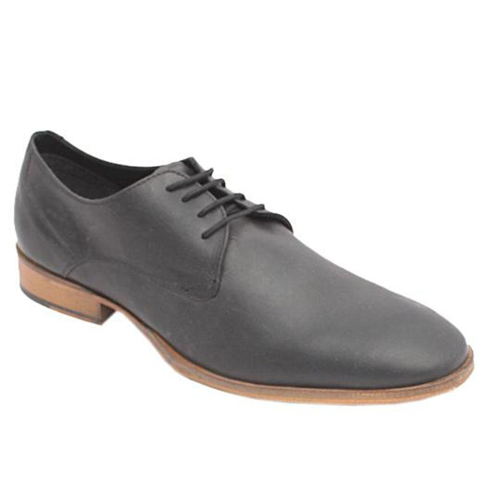 Kurt Geiger Black Leather Lace Mens Formal Shoe