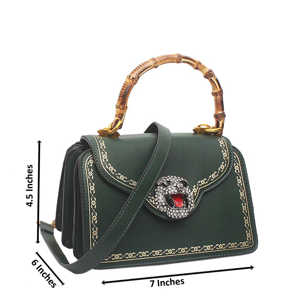 Green-Thiara-Montana-Leather-Bag